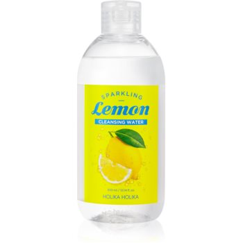 Holika Holika Sparkling Lemon Lapte demachiant pentru tenul gras și problematic cu apa termala imagine 2021 notino.ro