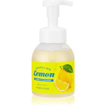 Holika Holika Sparkling Lemon spuma de curatat cu pompa imagine 2021 notino.ro