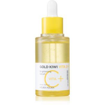 Holika Holika Gold Kiwi ser stralucire cu vitamina C impotriva petelor notino.ro