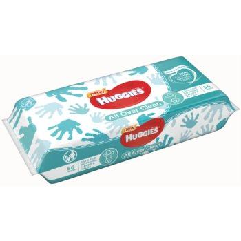 Huggies All Over Clean servetele pentru curatare pentru copii imagine 2021 notino.ro