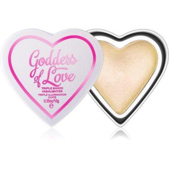 I Heart Revolution Goddess of Love pudra pentru luminozitate imagine 2021 notino.ro