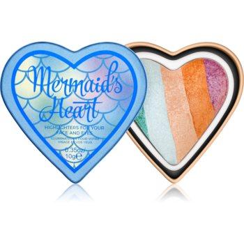 I Heart Revolution Mermaids Heart iluminator pentru față și zona ochilor imagine 2021 notino.ro