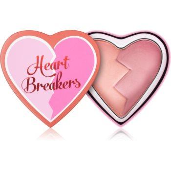I Heart Revolution Heartbreakers blush cu efect matifiant imagine 2021 notino.ro