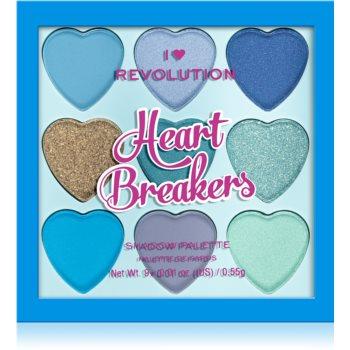 I Heart Revolution Heartbreakers paletă cu farduri de ochi imagine 2021 notino.ro
