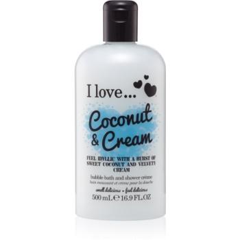 I love... Coconut & Cream Ulei gel de duș și baie notino.ro