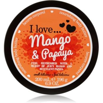 I love... Mango & Papaya unt pentru corp imagine 2021 notino.ro