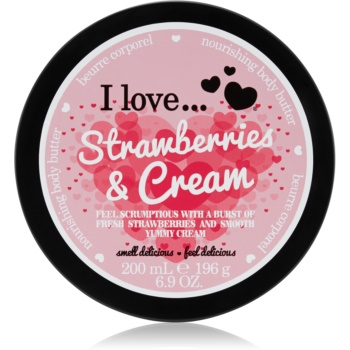 I love... Strawberries & Cream unt pentru corp imagine 2021 notino.ro