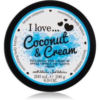 I love... Coconut & Cream unt pentru corp imagine 2021 notino.ro