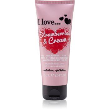 I love... Strawberries & Cream crema de maini imagine 2021 notino.ro