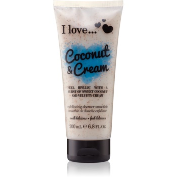 I love... Coconut & Cream gel de dus exfoliant imagine 2021 notino.ro