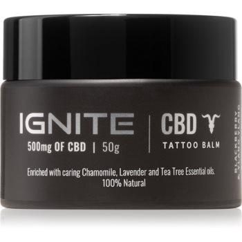 Ignite CBD Camomile, Lavender & Tea Tree 500mg balsam pentru îngrijirea tatuajelor proaspete imagine 2021 notino.ro