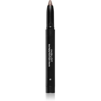 Inglot Brow Shaping Pencil creion pentru sprancene cu ascutitoare imagine 2021 notino.ro
