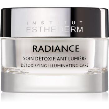 Institut Esthederm Radiance Detoxifying Illuminating Care Crema impotriva primelor semne de imbatranire pentru strălucirea și netezirea pielii notino.ro