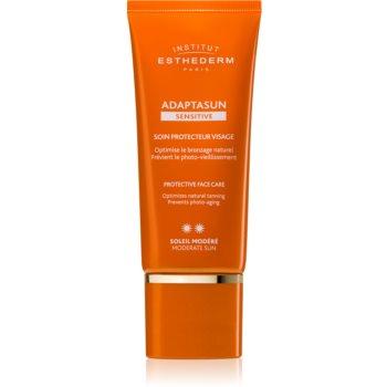 Institut Esthederm Adaptasun Sensitive Protective Face Care crema protectoare pentru fata protectie medie impotriva razelor UV notino poza