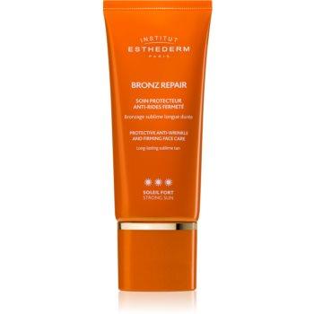 Institut Esthederm Bronz Repair Protective Anti-Wrinkle and Firming Face Care cremă facială antirid pentru fermitate cu o protectie UV ridicata notino poza
