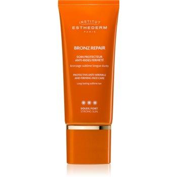 Institut Esthederm Bronz Repair Protective Anti-Wrinkle and Firming Face Care cremă facială antirid pentru fermitate cu o protectie UV ridicata imagine 2021 notino.ro