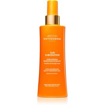 Institut Esthederm Sun Sublime Ultra-Nourishing Beauty Enhancer Care activator pentru bronz notino poza