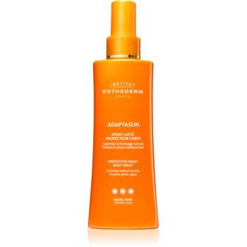Institut Esthederm Adaptasun Protective Milky Body Spray spay-lotiune de protectie solara cu o protectie UV ridicata notino poza