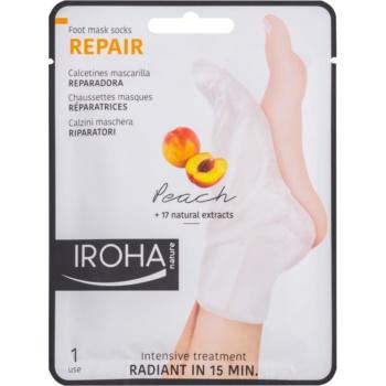 Iroha Repair Peach masca pentru picioare imagine 2021 notino.ro