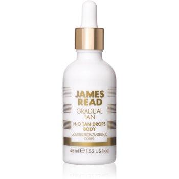 James Read Gradual Tan H2O Tan Drops picaturi pentru bronzare pentru corp imagine 2021 notino.ro