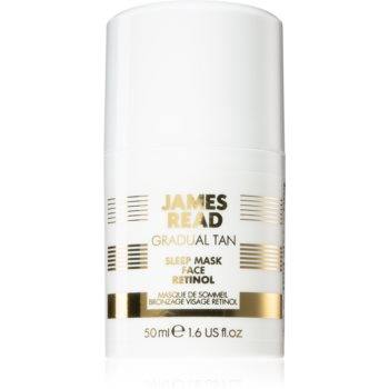 James Read Gradual Tan Sleep Mask Masca faciala cu efect de bronzare cu retinol notino poza