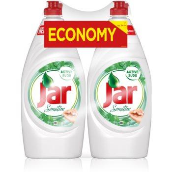 Jar Sensitive Tea Tree & Mint produs pentru spălarea vaselor pachet duo imagine 2021 notino.ro