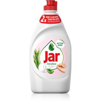 Jar Sensitive Aloe Vera & Pink Jasmine produs pentru spălarea vaselor imagine 2021 notino.ro