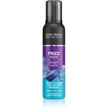 John Frieda Frizz Ease Dream Curls spuma pentru volum la radacina pentru păr creț imagine 2021 notino.ro