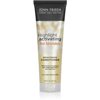 John Frieda Sheer Blonde Highlight Activating balsam hidratant pentru par blond notino.ro