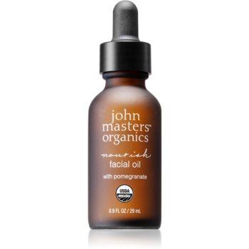 John Masters Organics All Skin Types ulei facial nutritie si hidratare notino poza