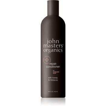 John Masters Organics Honey & Hibiscus balsam pentru regenerare pentru par deteriorat notino poza