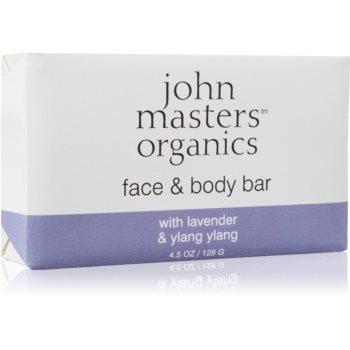 John Masters Organics Lavender & Ylang Ylang sapun hidratant pentru fata si corp imagine 2021 notino.ro