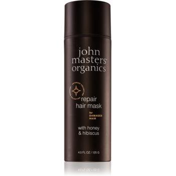John Masters Organics Honey & Hibiscus mască regeneratoare pentru părul deteriorat notino poza