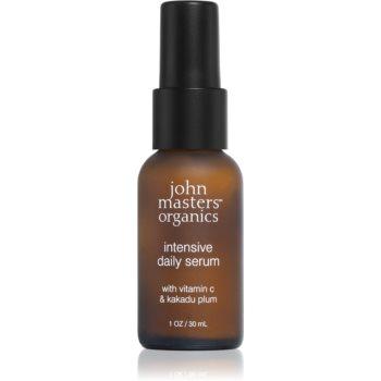 John Masters Organics Dry to Mature Skin ser facial de intinerire cu vitamina C notino.ro