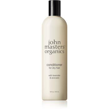 John Masters Organics Lavender & Avocado balsam intensiv pentru păr uscat și deteriorat notino poza