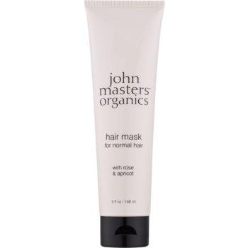 John Masters Organics Rose & Apricot Masca de par imagine 2021 notino.ro