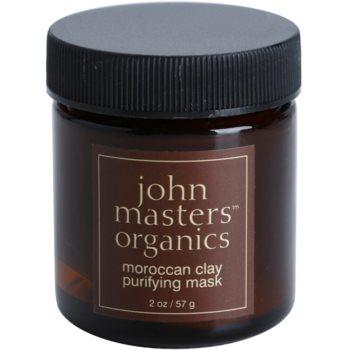 John Masters Organics Oily to Combination Skin masca de fata pentru curatare notino poza
