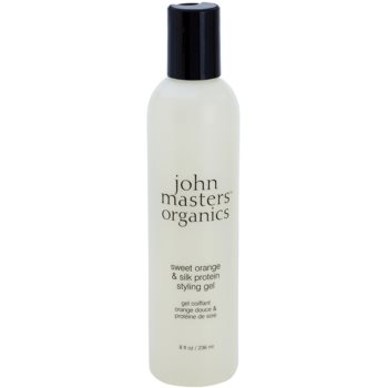 John Masters Organics Sweet Orange & Silk Protein styling gel imagine 2021 notino.ro