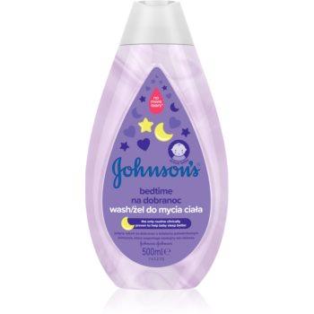 Johnson's® Bedtime gel de curățare pentru un somn liniștit pentru pielea bebelusului notino.ro