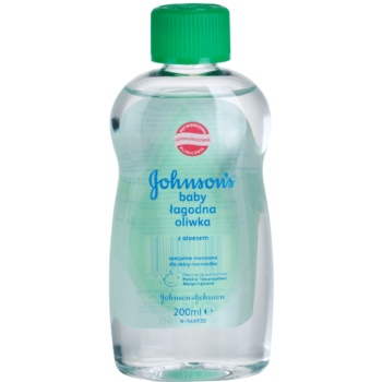 Johnson's® Care ulei pentru copii cu aloe vera imagine 2021 notino.ro