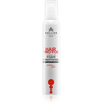Kallos Hair Pro-Tox balsam (nu necesita clatire) pentru par sensibil imagine 2021 notino.ro