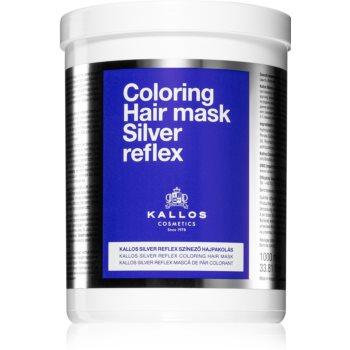 Kallos Silver Reflex Masca de par neutralizeaza tonurile de galben imagine 2021 notino.ro