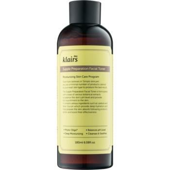 Klairs Supple Preparation tonic hidratant pentru echilibrarea pH-ului pielii imagine 2021 notino.ro