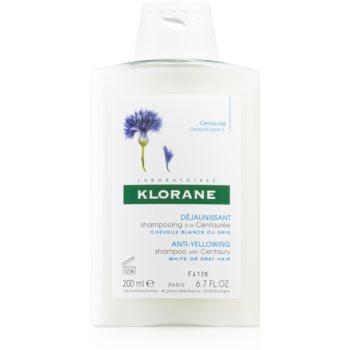 Klorane Centaurée șampon pentru părul blond şi gri imagine 2021 notino.ro