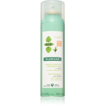Klorane Nettle șampon uscat pentru păr gras și închis la culoare imagine 2021 notino.ro