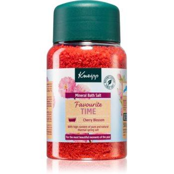 Kneipp Favourite Time Cherry Blossom saruri de baie cu minerale imagine 2021 notino.ro