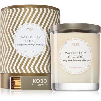 KOBO Aurelia Water Lily Clouds lumânare parfumată