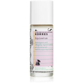 Korres Equisetum deodorant roll-on fără săruri de aluminiu 24 de ore imagine 2021 notino.ro