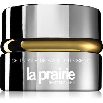 La Prairie Cellular Radiance Night Cream crema de noapte revitalizanta pentru o piele mai luminoasa imagine 2021 notino.ro