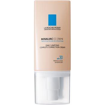 La Roche-Posay Rosaliac crema CC pentru piele sensibila cu tendinte de inrosire imagine 2021 notino.ro